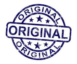 Vinyl lantai original